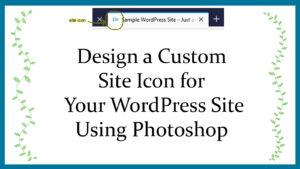 Site Icon Course Intro Slide